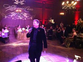 Peter Merry serving as Wedding Entertainment Director®
